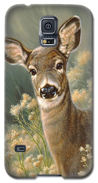 Autumn Fawn-blacktail Galaxy S5 Case by Paul Krapf
