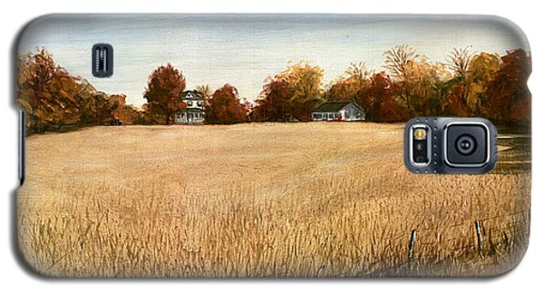 Autumn Field Southern Maryland Galaxy S5 Case