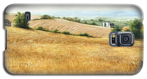 Autumn Fields Maryland Rt40 West Galaxy S5 Case