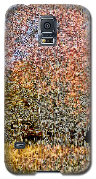Autumn Fires Galaxy S5 Case by Jim Pavelle