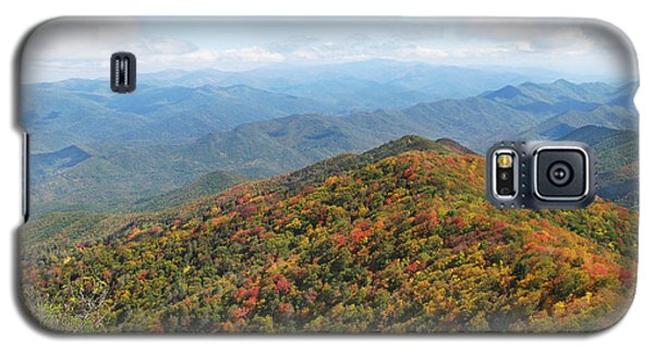 Autumn Great Smoky Mountains Galaxy S5 Case by Melinda Fawver