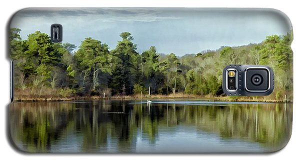 Galaxy S5 Case featuring the photograph Autumn Green Photo Art by Constantine Gregory