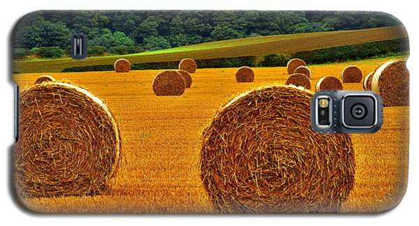 Autumn Hay Bales Galaxy S5 Case