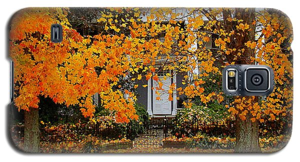 Autumn Homecoming Galaxy S5 Case