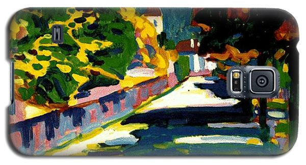 Autumn In Bavaria Galaxy S5 Case by Wassily Kandinsky