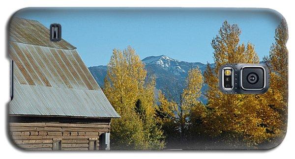 Autumn In Bozeman Montana Galaxy S5 Case