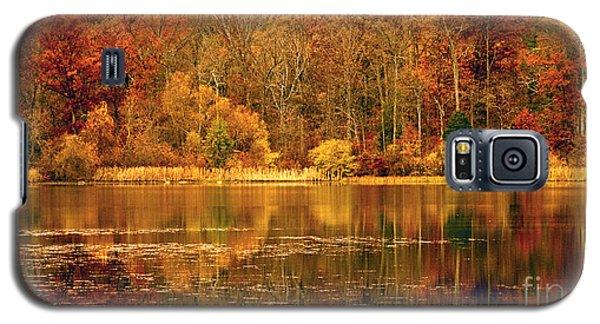 Autumn In Mirror Lake Galaxy S5 Case