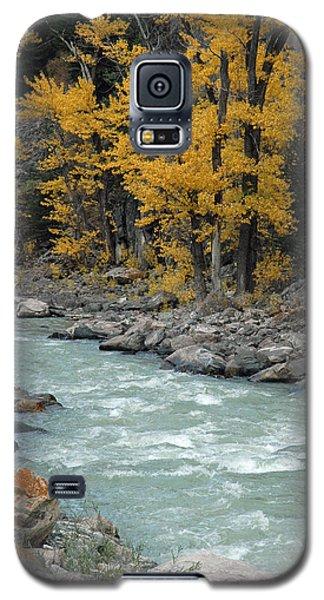 Autumn In Montana's Gallatin Canyon Galaxy S5 Case
