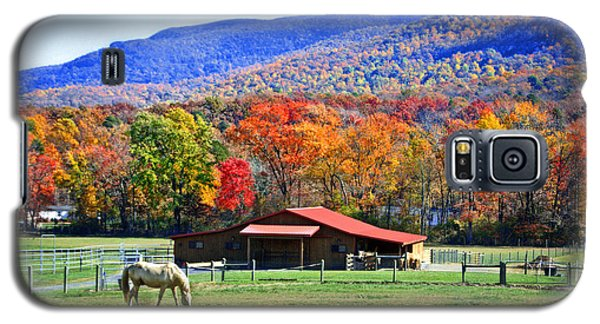 Autumn In Rural Virginia  Galaxy S5 Case