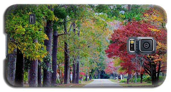 Galaxy S5 Case featuring the photograph Autumn In The Air by Cynthia Guinn