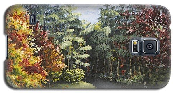 Autumn In The Arboretum Galaxy S5 Case