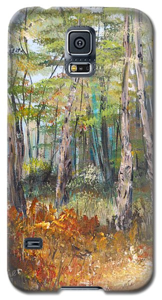 Autumn In The Forest Galaxy S5 Case by Dorothy Maier