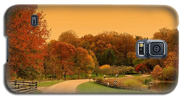 Autumn In The Park - Holmdel Park Galaxy S5 Case