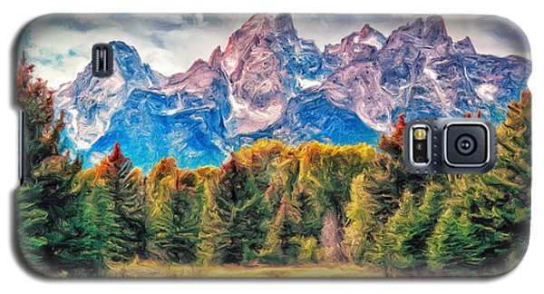Autumn In The Tetons Galaxy S5 Case