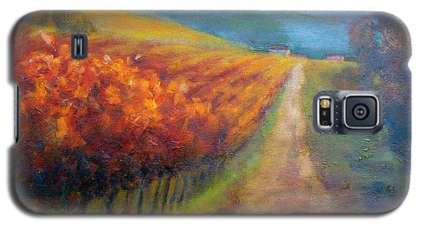 Autumn In The Vineyard Galaxy S5 Case