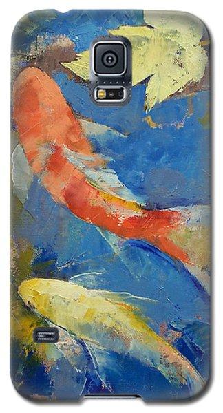 Autumn Koi Garden Galaxy S5 Case