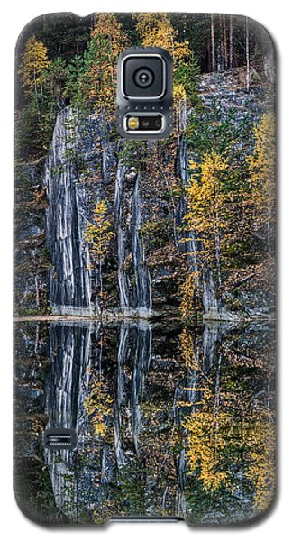 Autumn Lanscape 5 Galaxy S5 Case