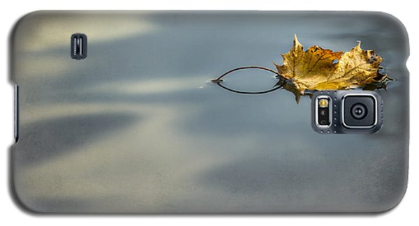 Galaxy S5 Case featuring the photograph Autumn Leaf by Yelena Rozov