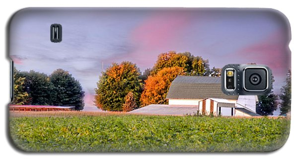 Galaxy S5 Case featuring the photograph Autumn Light by Mary Timman
