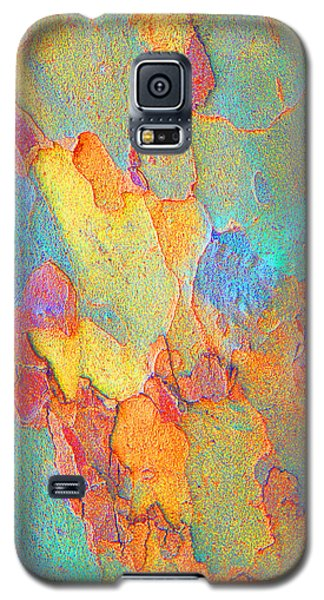 Galaxy S5 Case featuring the photograph Autumn London Plane Tree Abstract 2 by Margaret Saheed