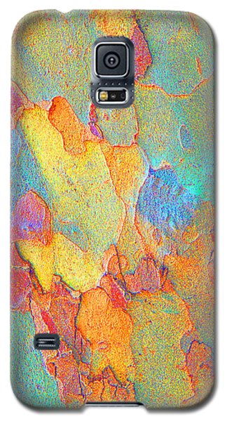 Autumn London Plane Tree Abstract 2 Galaxy S5 Case