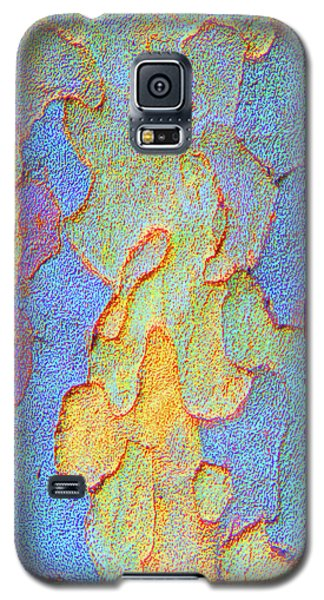 Galaxy S5 Case featuring the photograph Autumn London Plane Tree Abstract 4 by Margaret Saheed