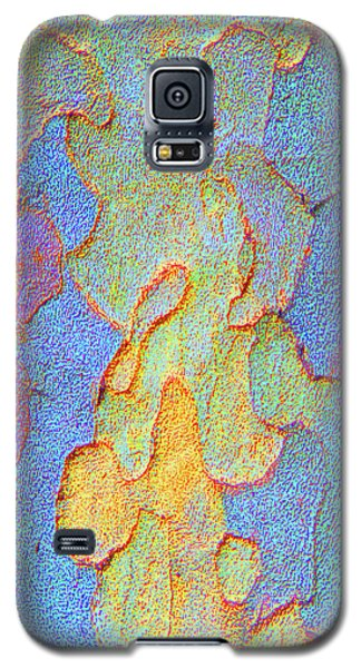 Autumn London Plane Tree Abstract 4 Galaxy S5 Case