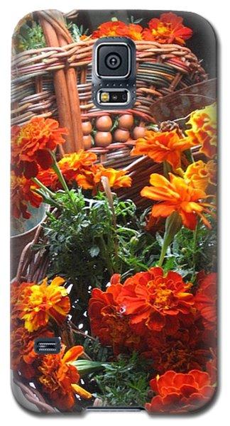 Autumn Marigolds Galaxy S5 Case