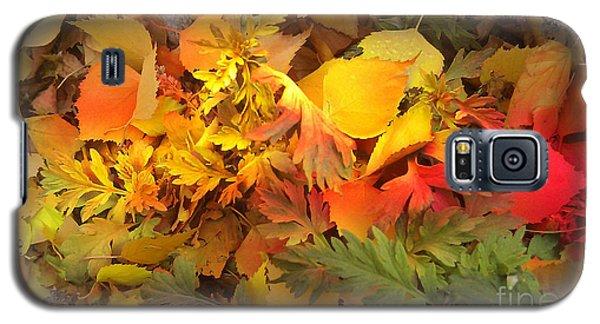 Autumn Masquerade Galaxy S5 Case by Martin Howard