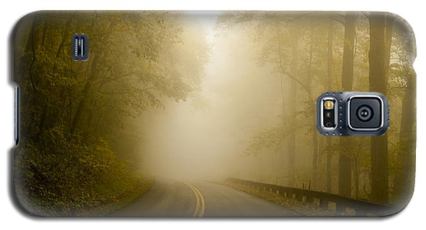 Autumn Mist Blue Ridge Parkway Galaxy S5 Case