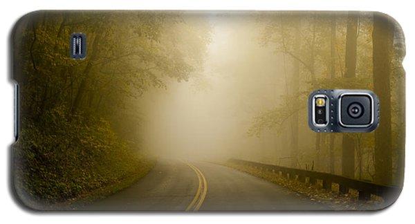 Autumn Mist Blue Ridge Parkway Galaxy S5 Case