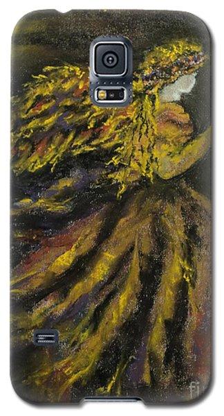 Autumn Moon Angel Galaxy S5 Case