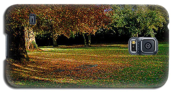 Galaxy S5 Case featuring the photograph Autumn by Nina Ficur Feenan