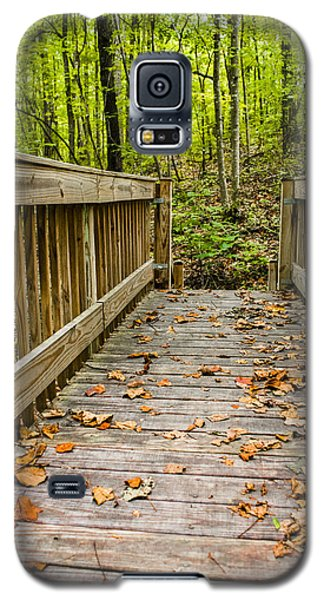 Autumn On The Bridge Galaxy S5 Case