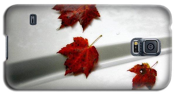 Autumn On The Car Galaxy S5 Case