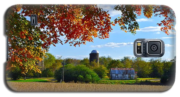 Autumn On The Farm Galaxy S5 Case