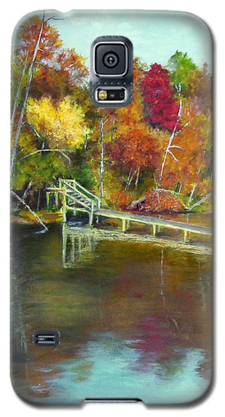 Autumn On The James Galaxy S5 Case by Sandra Nardone
