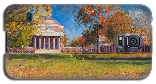 Autumn On The Lawn Galaxy S5 Case