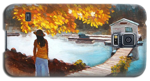 Autumn On The Mississippi Galaxy S5 Case