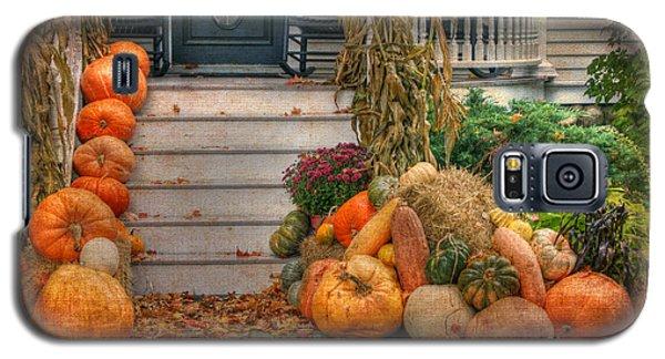 Autumn On The Porch Galaxy S5 Case