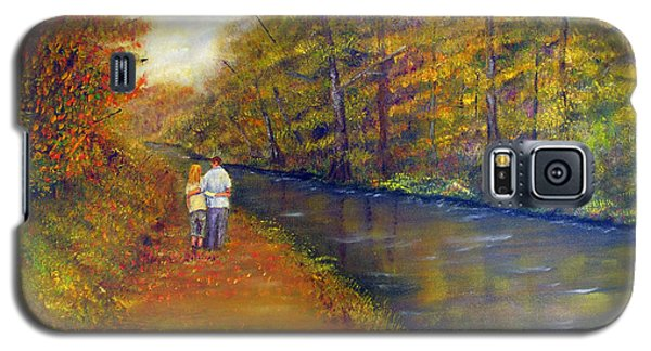 Autumn On The Towpath Galaxy S5 Case