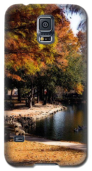 Autumn On Theta Galaxy S5 Case by Lana Trussell
