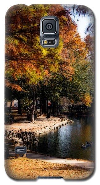 Autumn On Theta Galaxy S5 Case