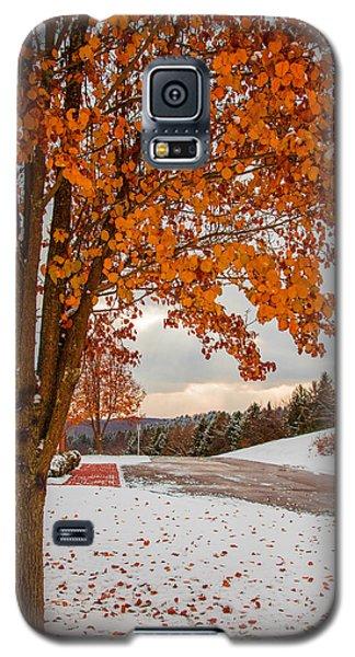 Autumn Or Winter Galaxy S5 Case by April Reppucci