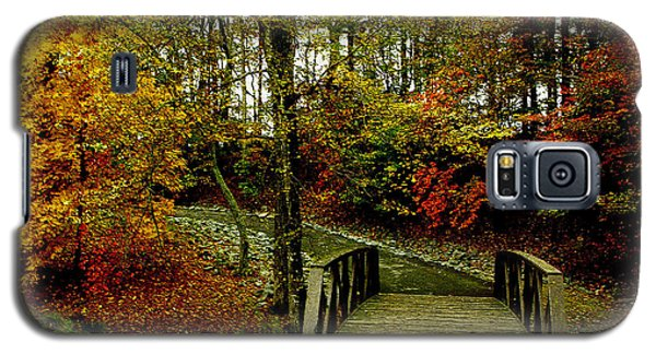 Galaxy S5 Case featuring the photograph Autumn Peace by James C Thomas