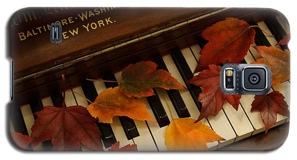 Autumn Piano 14 Galaxy S5 Case by Mick Anderson