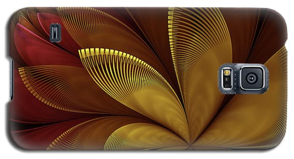 Galaxy S5 Case featuring the digital art Autumn Plant by Gabiw Art