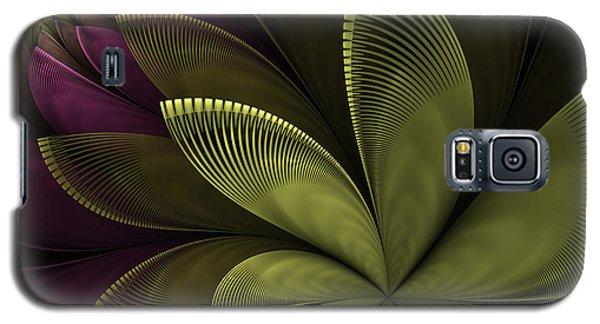 Galaxy S5 Case featuring the digital art Autumn Plant II by Gabiw Art