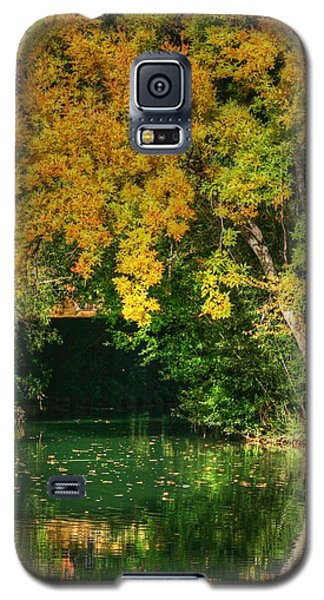 Autumn Pond Galaxy S5 Case by Ester  Rogers