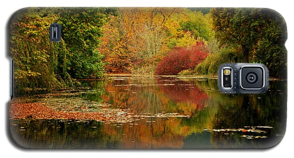 Autumn Pond Galaxy S5 Case